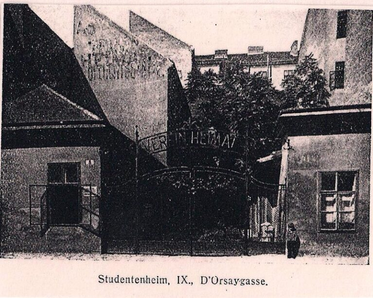 Foundation of the WIHAST<br /> Dormitory in the D´Orsay – alley 5