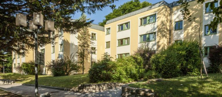 Außenansicht | Studierendenwohnheim Starkfriedgasse 1180 Wien