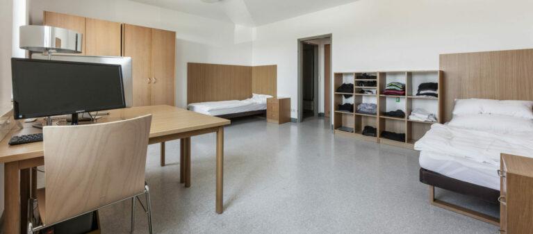 Zweibettzimmer | Ernst Höger Studentenwohnhaus 2700 Wiener Neustadt