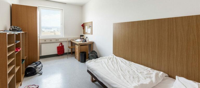 Einzelzimmer | Ernst Höger Studentenwohnhaus 2700 Wiener Neustadt