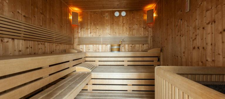Sauna | Ernst Höger Studentenwohnhaus 2700 Wiener Neustadt