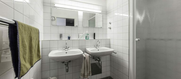 Badezimmer | Ernst Höger Studentenwohnhaus 2700 Wiener Neustadt