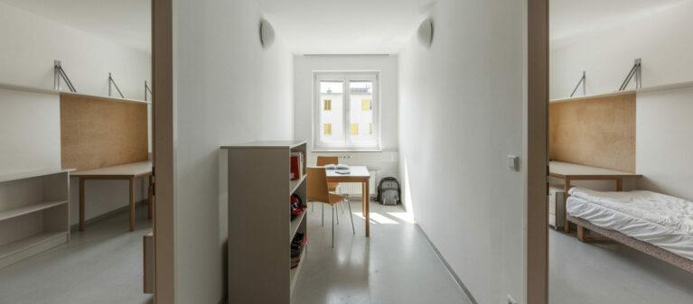 Zimmer im Verbund | Ernst Höger Studentenwohnhaus 2700 Wiener Neustadt