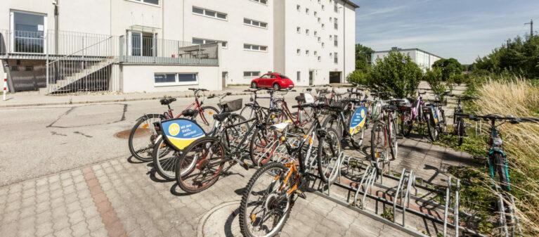 Radabstellplatz | Studierendenwohnhaus St. Pölten 3100 Sankt Pölten