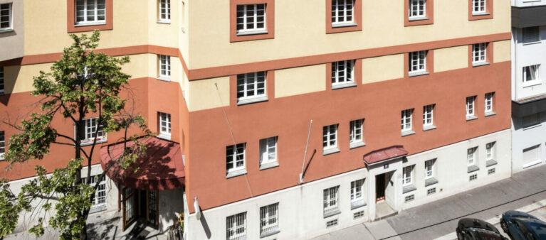 Außenansicht | Studierendenwohnheim Säulengasse 1090 Wien