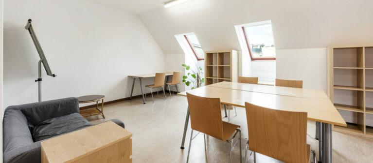 Gemeinschaftsraum | Studierendenwohnheim Hirschengasse 1060  Wien