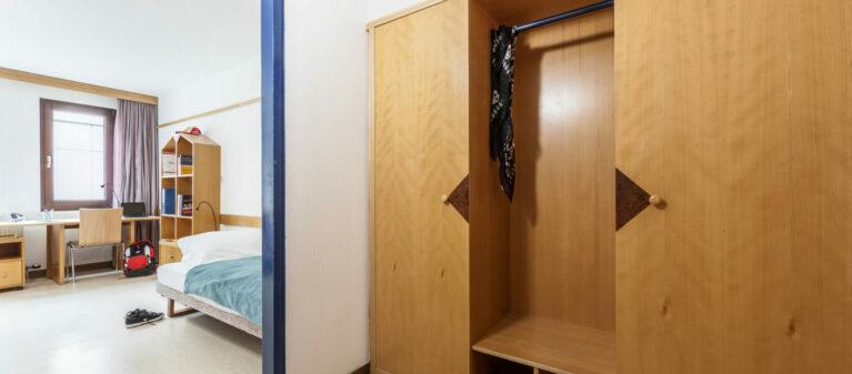 Schrank im Vorzimmer | Studierendenwohnheim Hirschengasse 1060  Wien