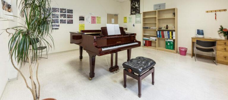 Campus Brigittenau Musikraum | Dr. Paul Schärf Heim 1200 Wien
