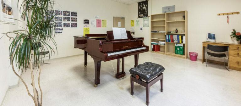 Campus Brigittenau Musikraum | Studierendenwohnheim Forsthausgasse 1200 Wien