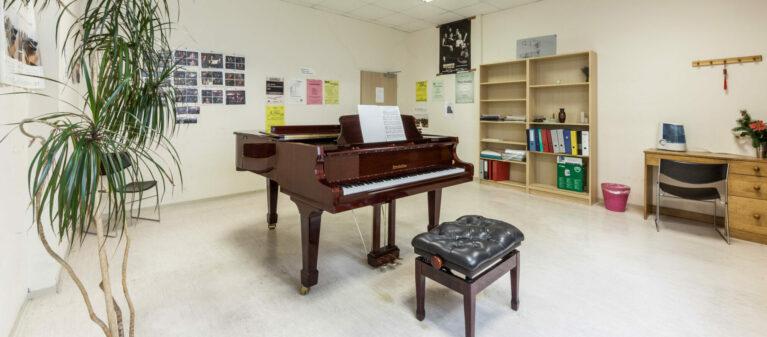 Campus Brigittenau Musikraum | Haus Dr. Schärf 1200 Wien