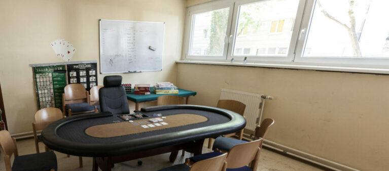 Campus Brigittenau Pokerraum | Studierendenwohnheim Forsthausgasse 1200 Wien