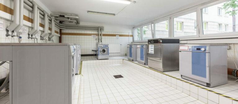 Campus Brigittenau Waschraum | Haus Dr. Schärf 1200 Wien