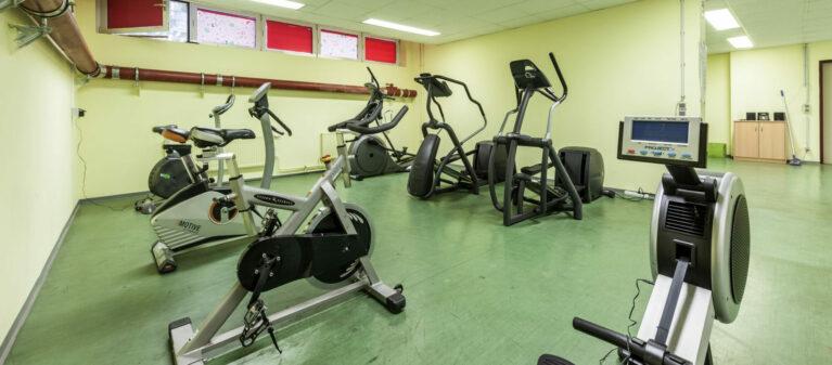 Campus Brigittenau Fitnessraum | Haus Dr. Schärf 1200 Wien