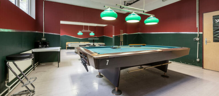 Campus Brigittenau Billardraum | Studierendenwohnheim Forsthausgasse 1200 Wien