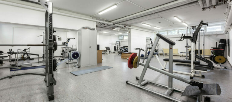 Campus Brigittenau Fitnessraum | Dr. Hertha Firnberg Studentenwohnheim 1200 Wien