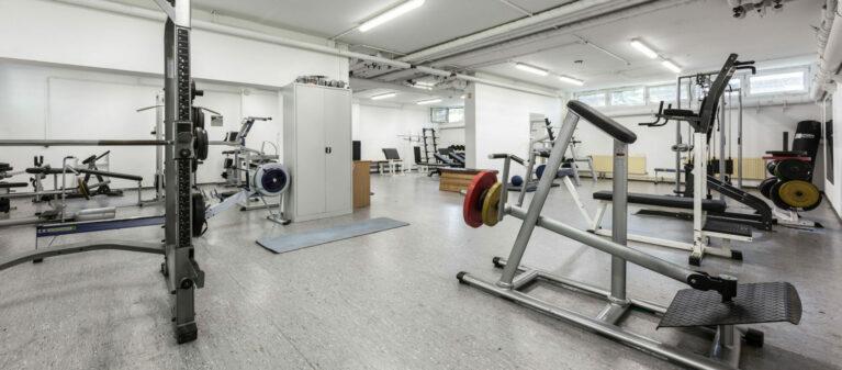 Campus Brigittenau Fitnessraum | Dr. Paul Schärf Heim 1200 Wien