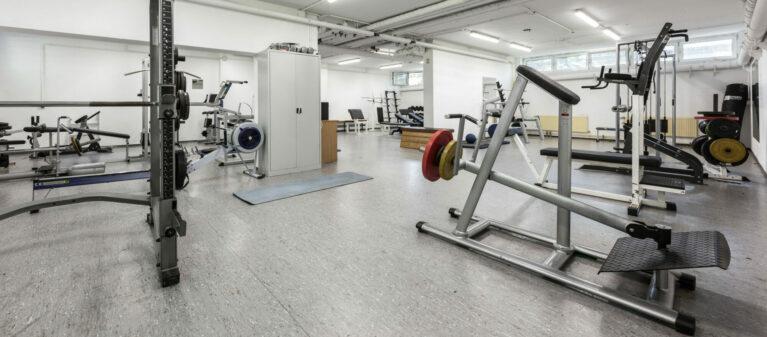 Campus Brigittenau Fitnessraum | Studierendenwohnheim Forsthausgasse 1200 Wien