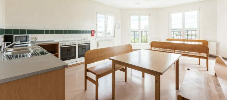shared kitchen | Dr. Hertha Firnberg Dormitory 1200  Vienna