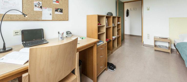 Einzelzimmer | Dr. Hertha Firnberg Studentenwohnheim 1200 Wien