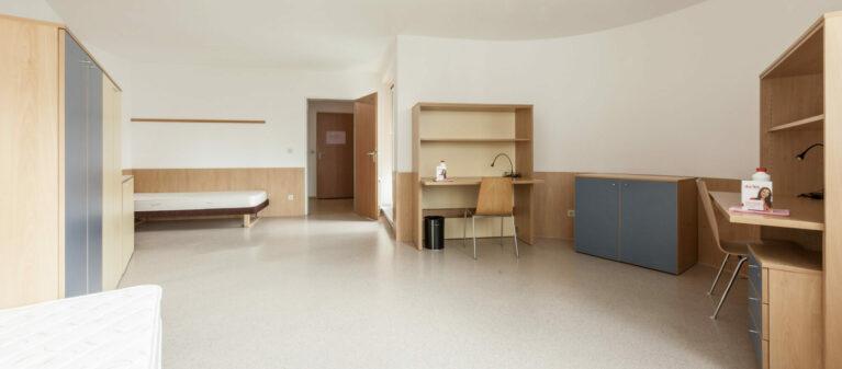 Doppelzimmer | Studierendenwohnheim Forsthausgasse 1200 Wien