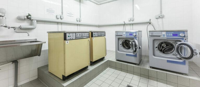 Campus Brigittenau Waschraum | Studierendenwohnheim Forsthausgasse 1200 Wien