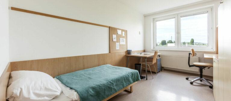 Einzelzimmer | Studierendenwohnheim Forsthausgasse 1200 Wien