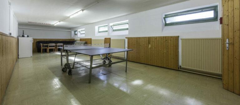 Tischtennis und Gemeinschaftsraum | Studierendenwohnheim Starkfriedgasse 1180 Wien