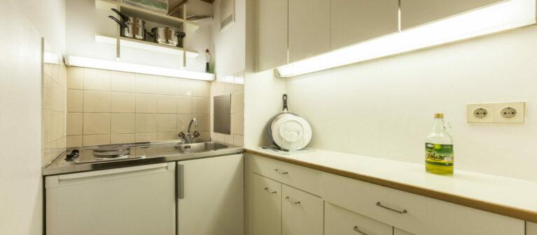Küche | Studierendenwohnheim Starkfriedgasse 1180 Wien