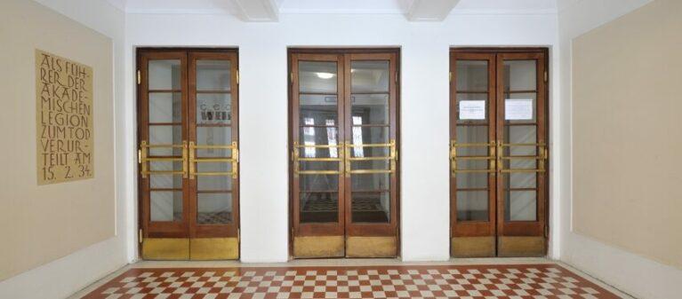 Eingang des Studentenheim | Studierendenwohnheim Säulengasse 1090 Wien