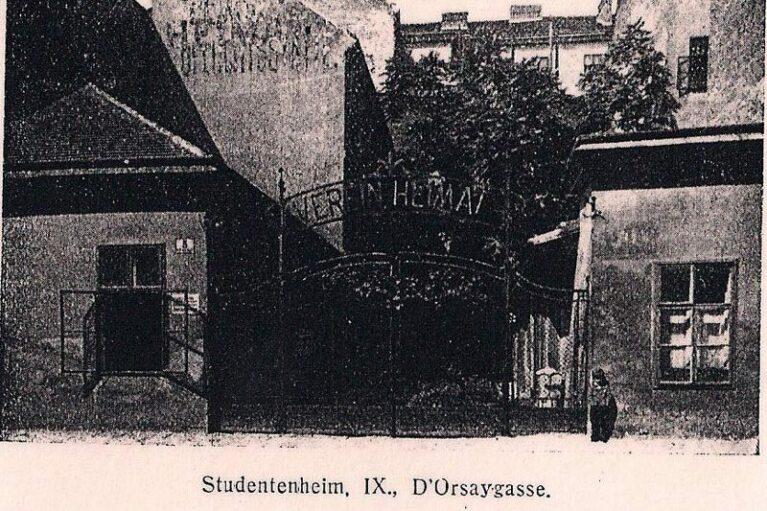 Gründung der WIHAST<br /> Haus in der D´Orsay – Gasse 5
