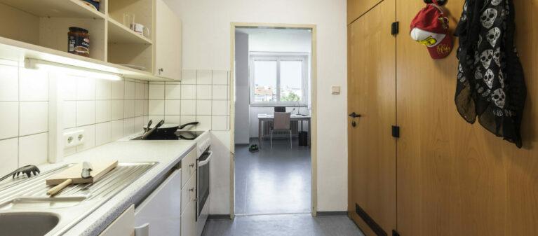 kitchen in room   House Margareten 1040  Vienna