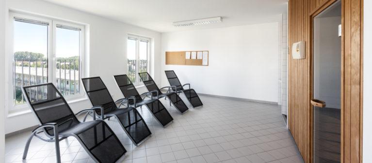 Spa Bereich mit Sauna | Student dorm St. Pölten 3100  Sankt Pölten