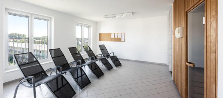 Spa Bereich mit Sauna | Studierendenwohnhaus St. Pölten 3100 Sankt Pölten
