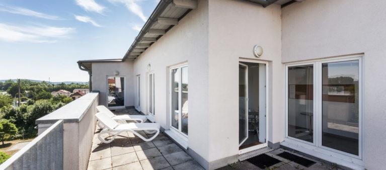 Spa Bereich mit Dachterrasse  | Student dorm St. Pölten 3100  Sankt Pölten