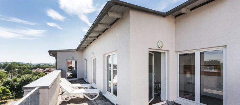 Spa Bereich mit Dachterrasse | Studierendenwohnhaus St. Pölten 3100 Sankt Pölten