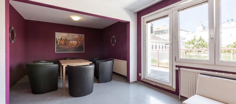 Gemeinschaftsraum | Student dorm Tendlergasse 1090  Vienna