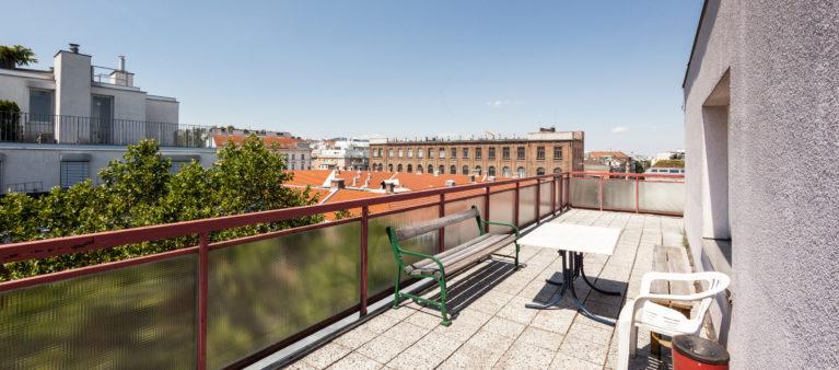 Dachterrasse | Student dorm Tendlergasse 1090  Vienna