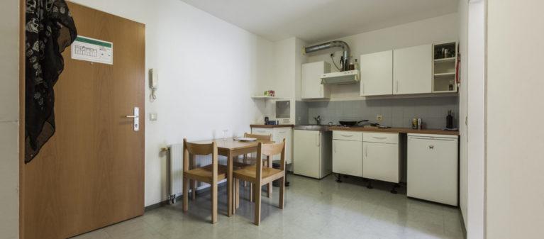 Küche im Zimmerverbund | Haus Handelskai 1200 Wien