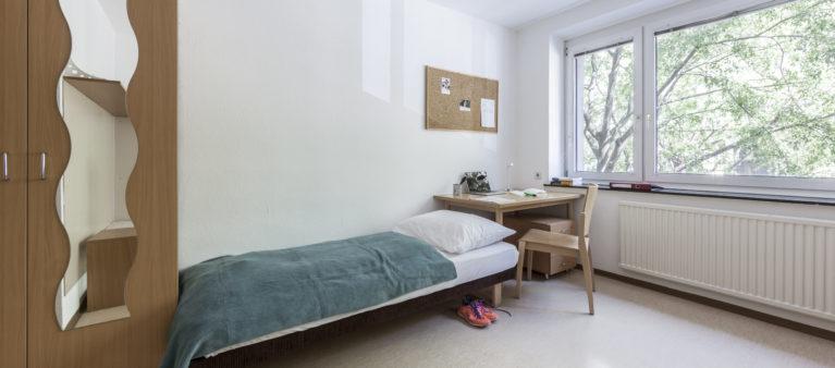 Einzelzimmer | Studentinnenheim Hainburgerstraße 1030 Wien