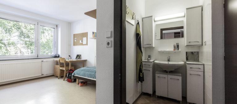 Zimmer | Female student dorm Hainburgerstraße 1030  Vienna