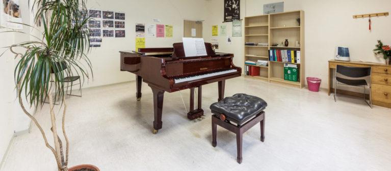Campus Brigittenau Musikraum   Campus Brigittenau 1200 Wien